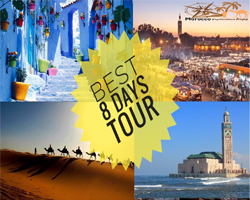 Best of 8 Days Tour in Morocco