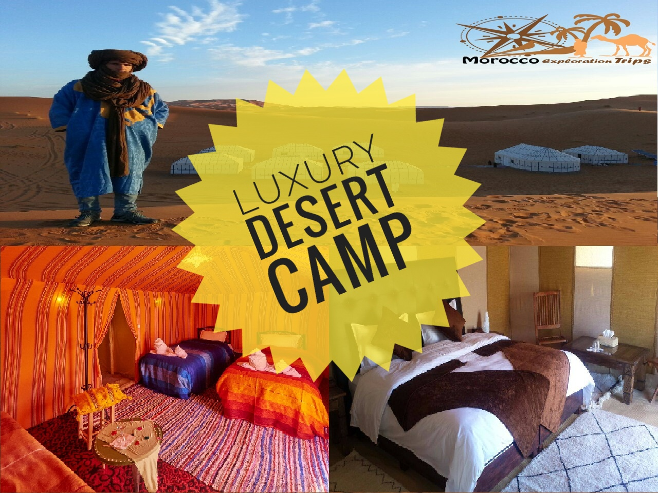 Luxury Desert Camp Tour