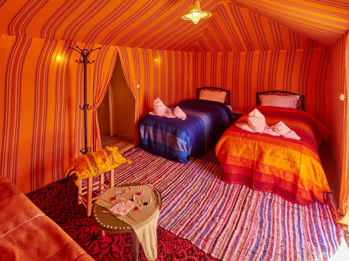 luxury camp desert