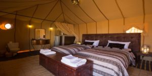 Luxury camping Morocco